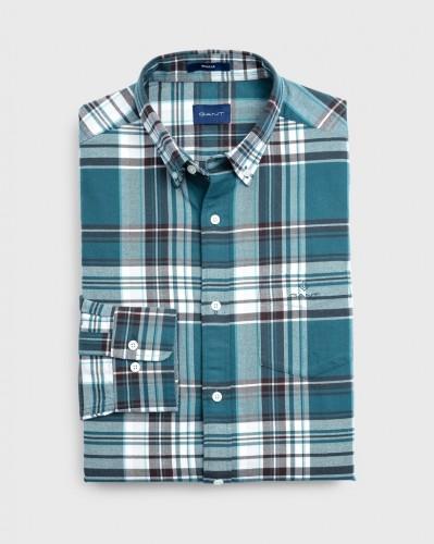 Gebürstetes Oxford-Hemd