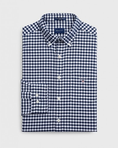 Regular Oxford Gingham Hemd