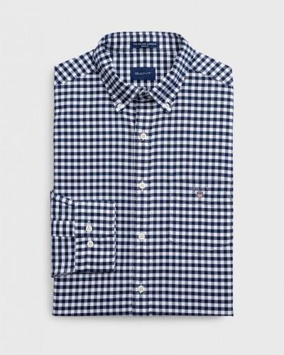 Regular Oxford Gingham Hemd