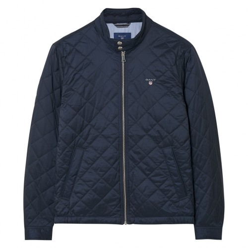 Quilted Windcheater Jacke