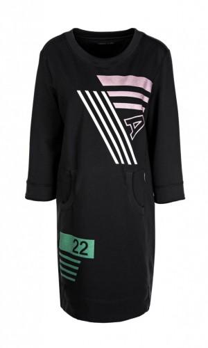 Kleid aus Baumwollstretch