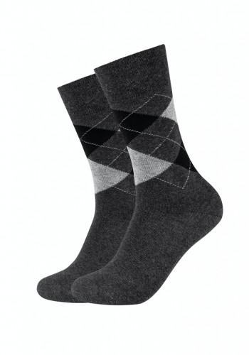 Men ca-soft classic argyle Socks 2p