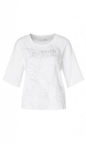 Shirt aus Baumwollstretch