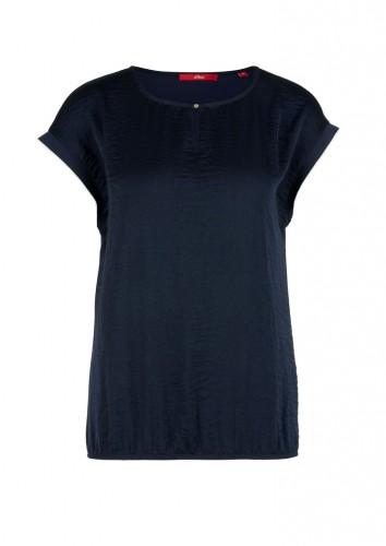 Jersey/Satin-T-Shirt