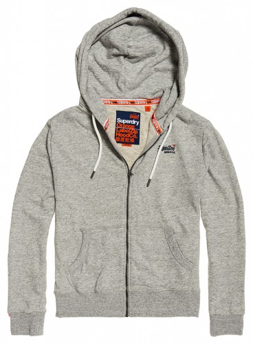 Sweatshirt Jacke Orange Label Lite