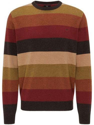 O-Neck, Mukticoloured Stripe