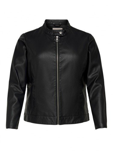 CARROBBER FAUX LEATHER JACKET NOOS