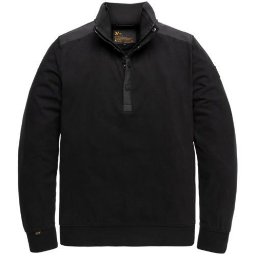 Half Button Collar Xv Heavy Jersey