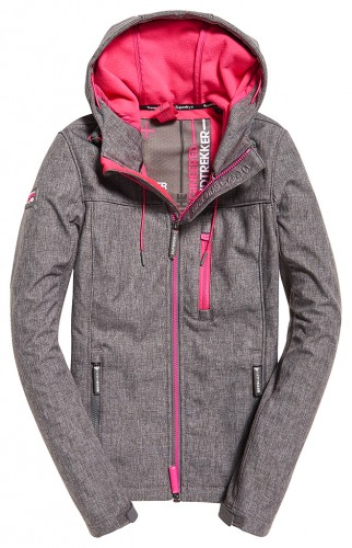 Jacke Hooded Windtrekker