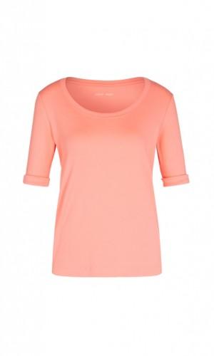Basic-Shirt aus Feinjersey