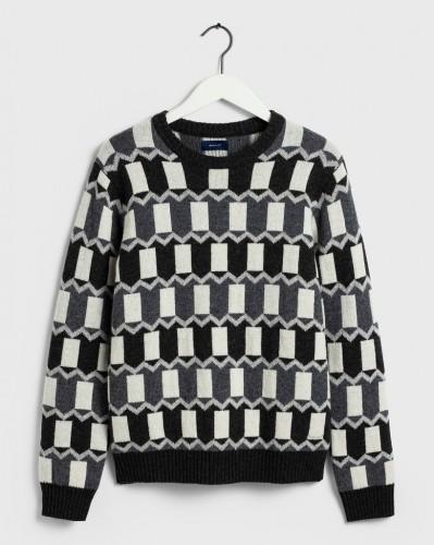All-Over Fairisle Pullover