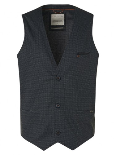 Gilet All Over Printed Jersey Unlined Stretch