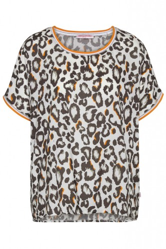 Leo Print T-Shirt