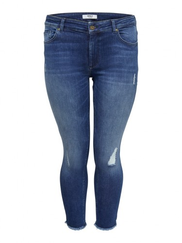 CARWILLY REG SKINNY ANK JEANS MBD NOOS