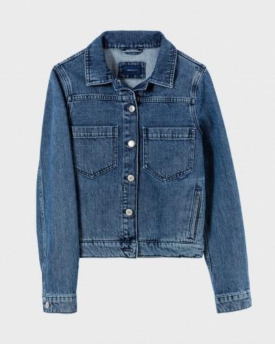 Indigo Jeans Jacke