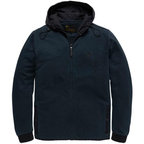 Hooded Xv Slub Sweat Garment Dye