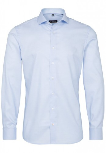 ETERNA LANGARM HEMD SLIM FIT NATTÉ-STRETCH