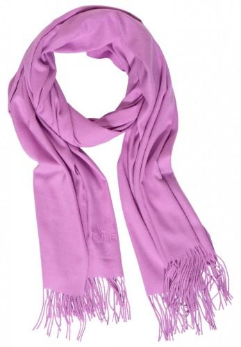 Unifarbener Schal
