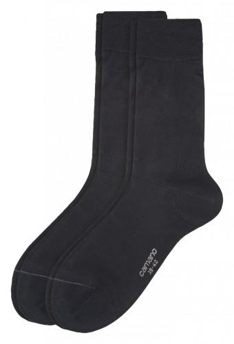 Men Basic mercerised cotton Socks 2p