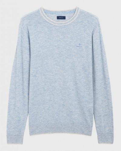 Baumwoll-Leinen Pullover