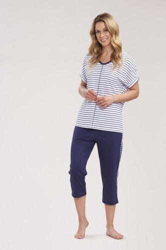 Pyjama-Set Shirt 1/2 Arm und Hose 3/4 Länge