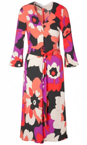 Kleid mit Maxiblüten