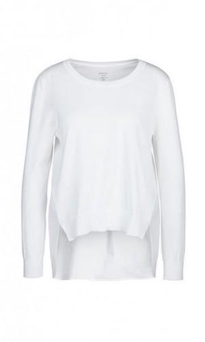 Pullover aus Materialmix
