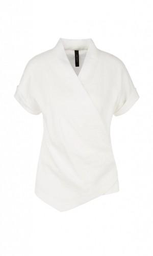 Blusenshirt aus Leinenmix