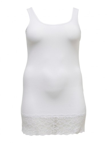 CARTIME TANK TOP WITH LACE ESS