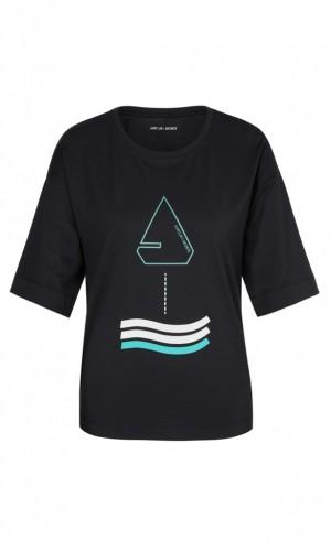 Shirt mit maritimem Druck