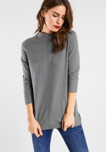 Pullover mit Mittelnaht