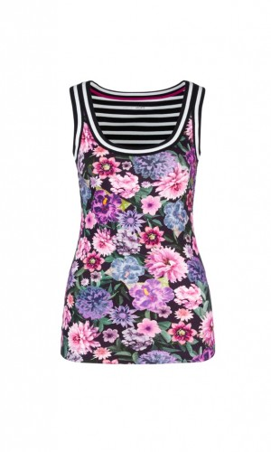 Tank-Top mit Print-Mix