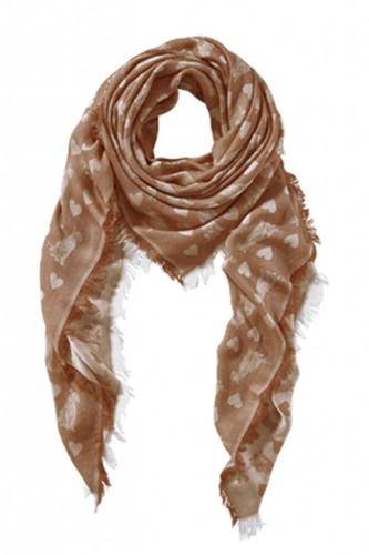 Schal mit Animalprint