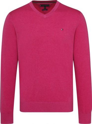 Pullover V-Ausschnitt Cotto9n Silk